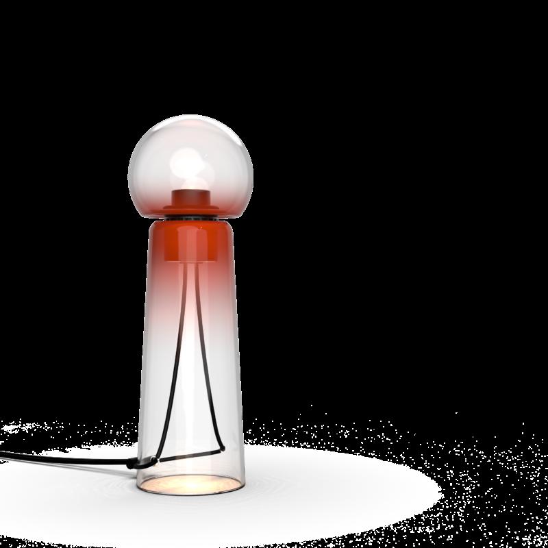 Gigi Studio d'Armes hand blown glass table lamp